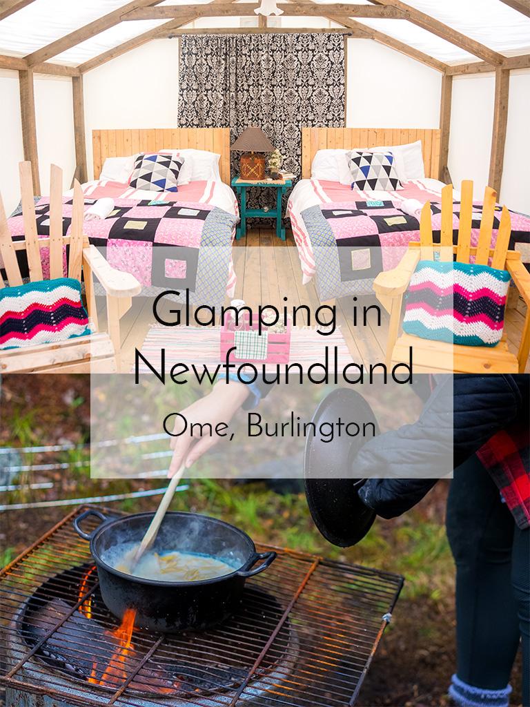 Glamping Newfoundland Pinterest