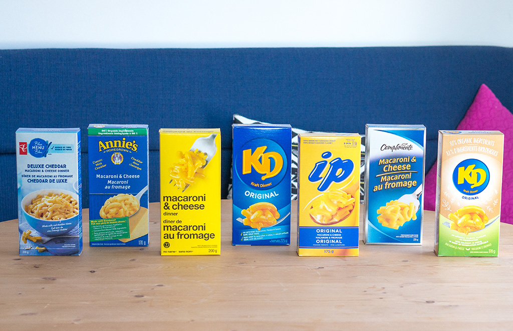 All The Kraft Dinner.The Food Girl in Town