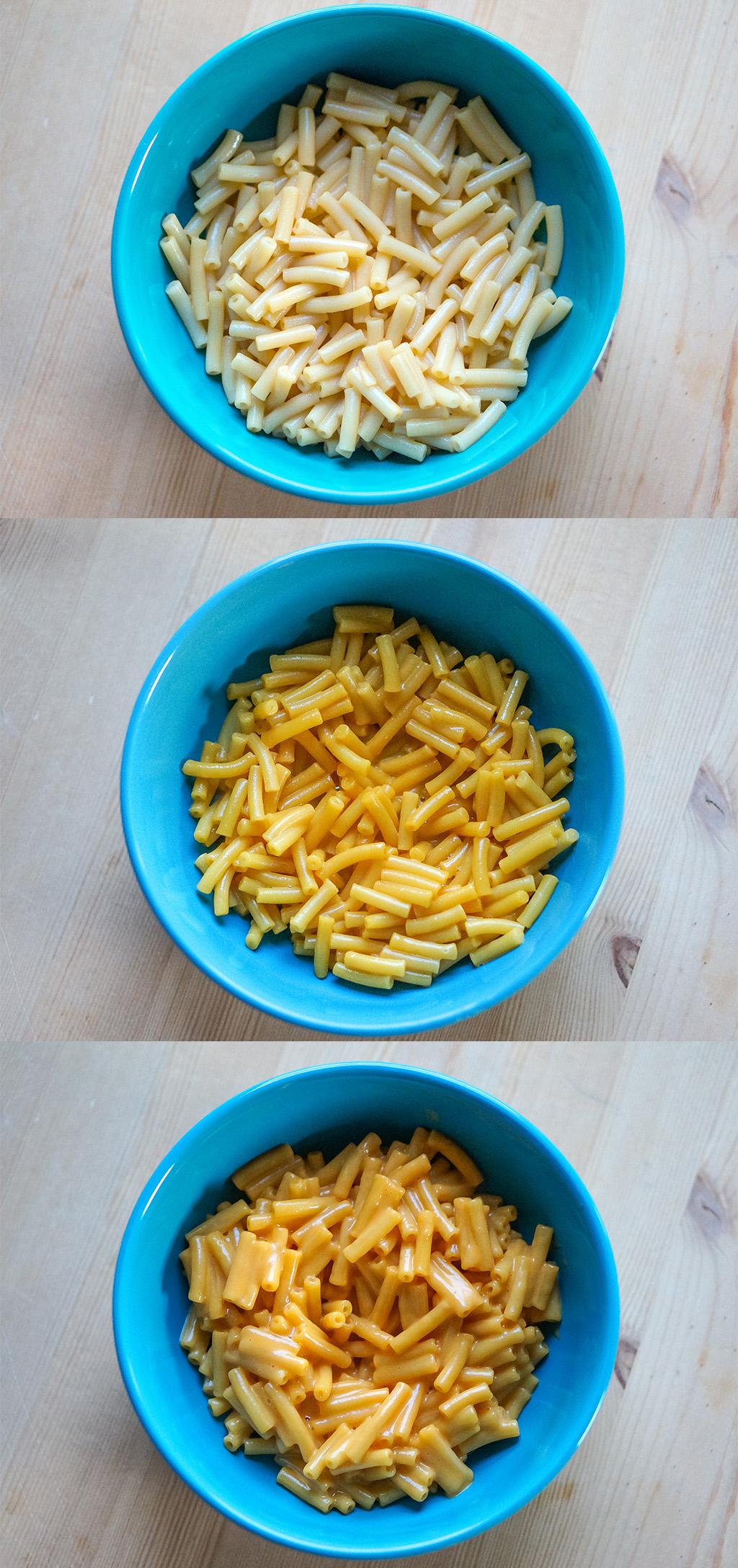 Bowls Kraft Dinner.The Food Girl in Town