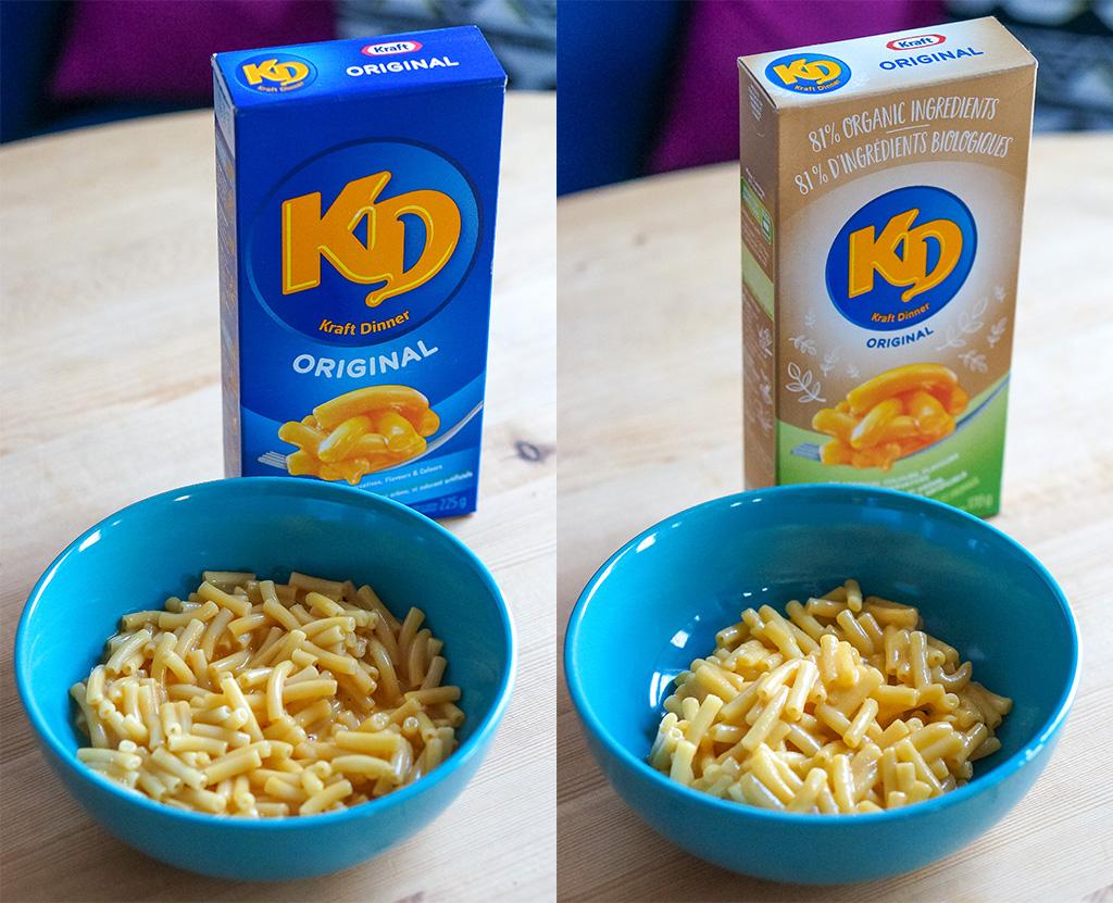 Original KD vs Organic KD.The Food Girl in Town
