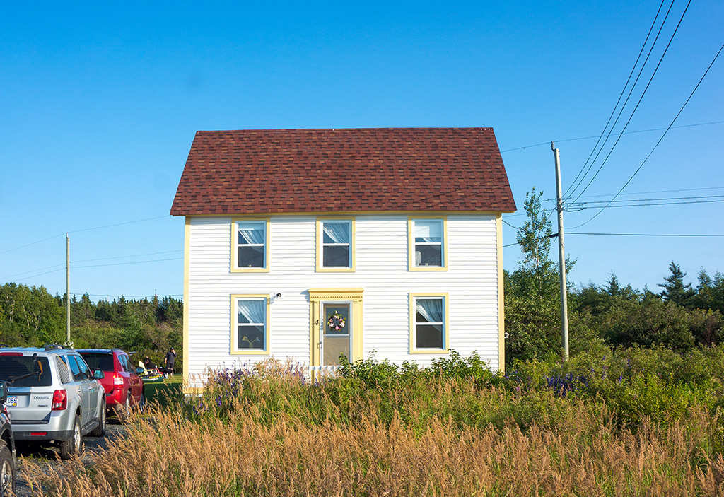 Raspberry House.The Food Girl in Town Newfoundland Accommodations