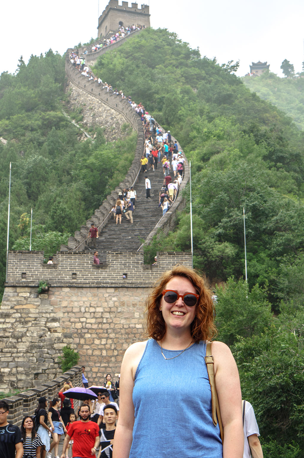 Visiting the Great Wall of China Juyong Pass 7 The Food Girl in Town