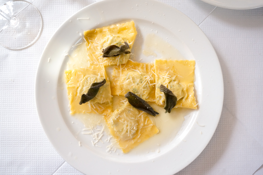 Ravioli close up River Cafe Best Restaurants in London