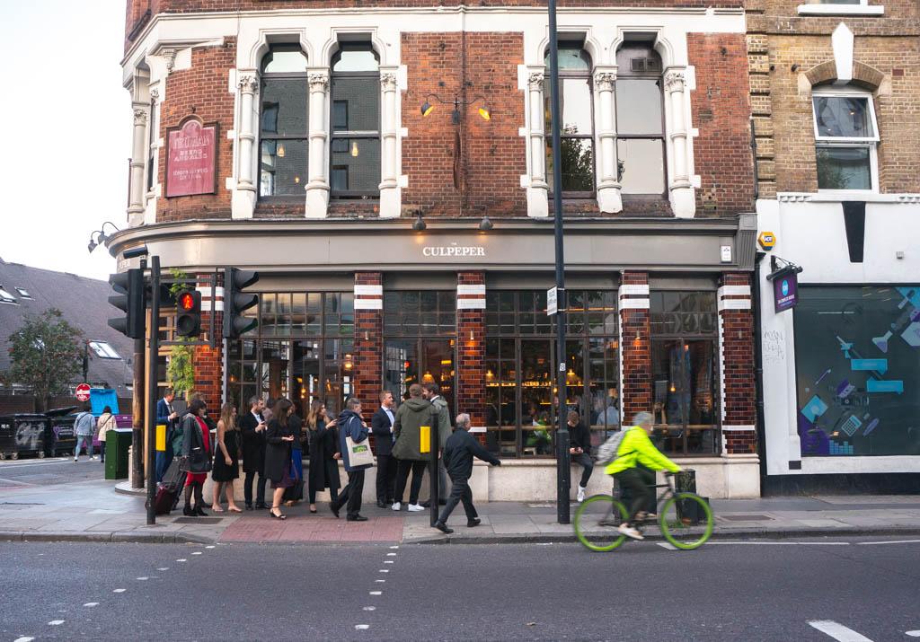 The Culpeper pub hotel in London