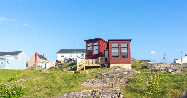 Glamping by the ocean! The most unique of Bonavista accommodations