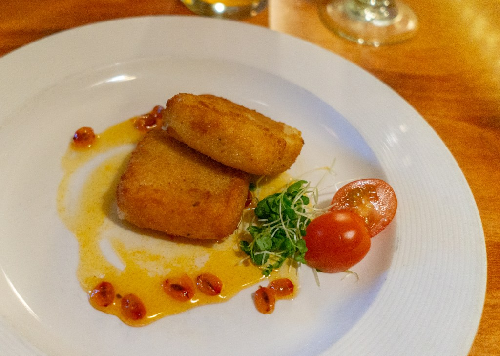 fried cheese at Pub D'Orsay in Quebec City restaurants