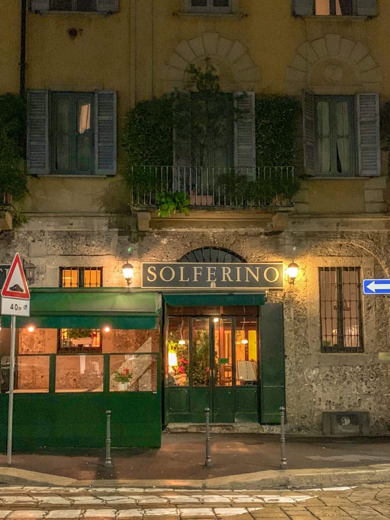 Il Solferino, one of the best restaurants in Milan