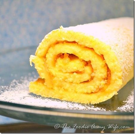 Orange Jelly Roll Cake by Cosmopolitan Cornbread