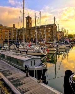 London Guides: St Katharine Docks