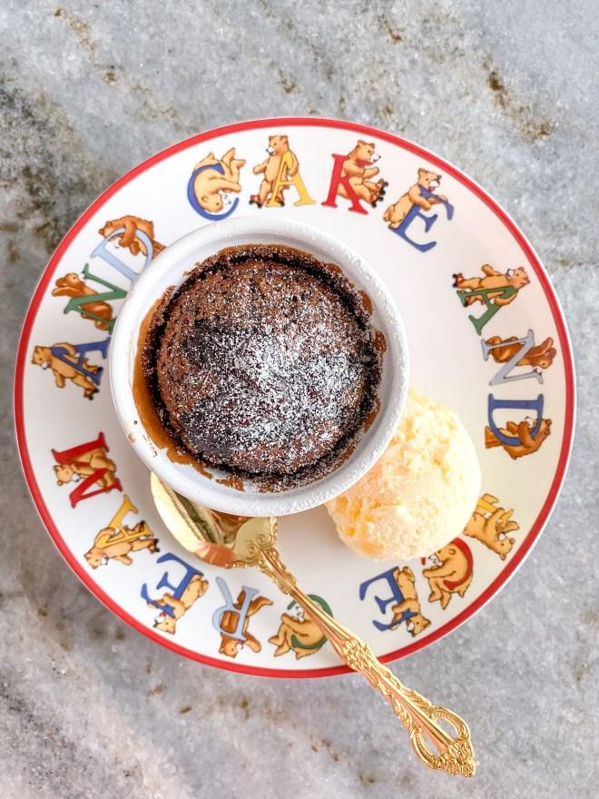 classic chocolate lava cake