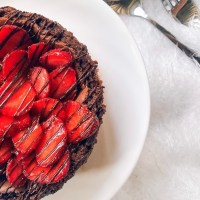 The Best Chocolate Strawberry Cheesecake Recipe