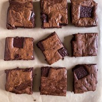 Recipe: Fudgy Mocha Brownies With Chocolate