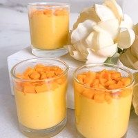 Summertime Recipes: Eggless Mango Mousse