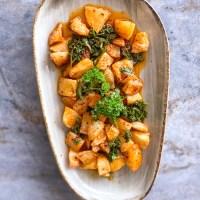 Vegetarian Lebanese Recipes: Roasted Batata Harra