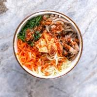 Easy Vegetarian Recipes: Korean Bibimbap Bowl