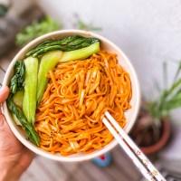 Easy Asian Recipes: Spicy Vegan Gochujang Noodles