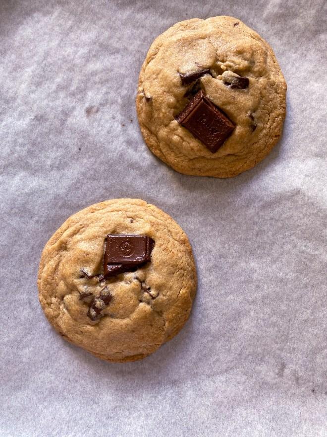 best eggless chocolate-chop cookies