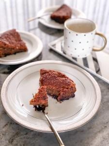 eggless coffee tea cake