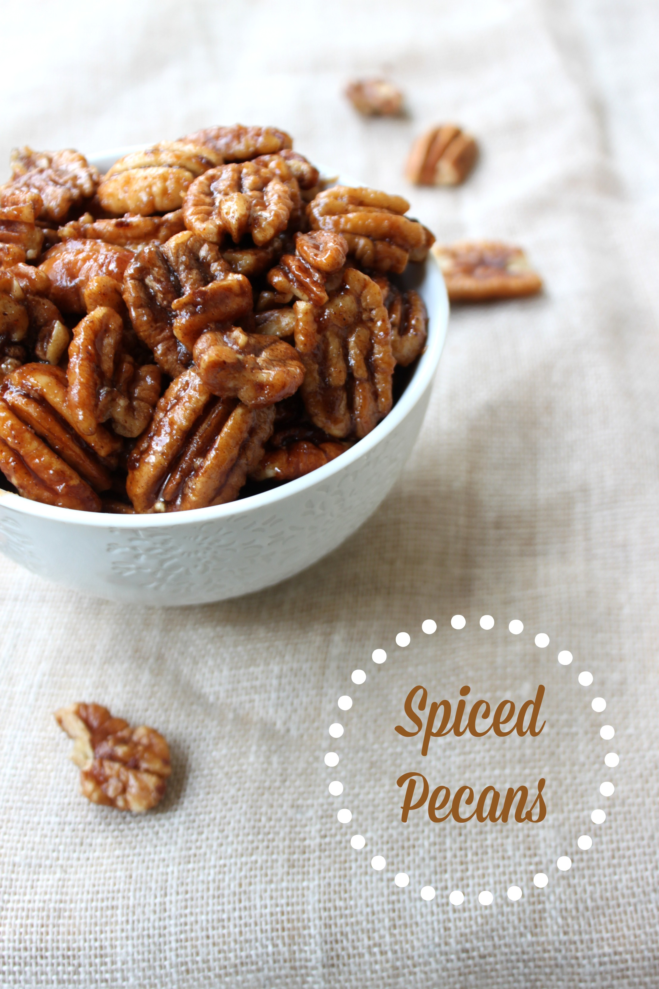 National Pecan Day  Spiced Pecans  The Foodie Patootie