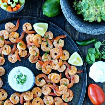 Super Bowl Snacks: Grilled Buffalo Shrimp & Game Day Guacamole