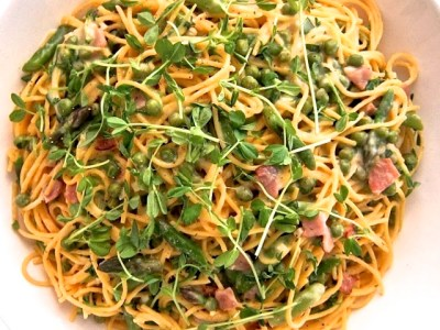 Recipe Resuscitation: Spring Vegetable Spaghetti Carbonara