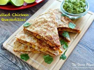 Cook Once, Eat Twice: Pulled Chicken Quesadillas
