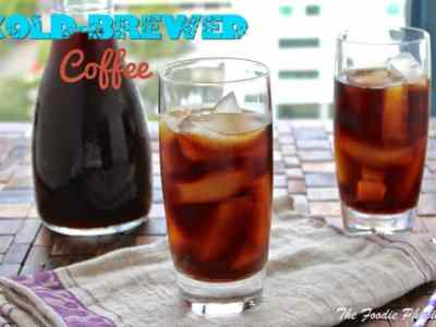 Dining with the Doc: Cold-Brewed Coffee