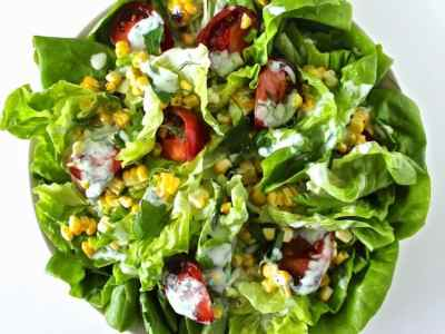 Dining with the Doc: Butter Lettuce Salad with Buttermilk Herb Dressing