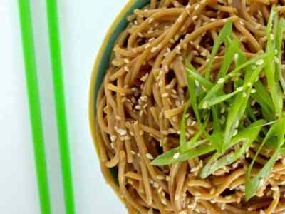 Dining with the Doc: Cold Sesame Noodles