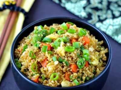 """Recipe Resuscitation: Quinoa Fried """"Rice"""""""