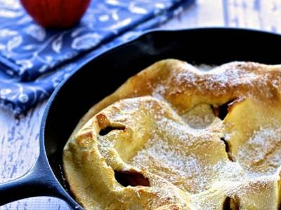 Dining with the Doc: Apple Dutch Baby