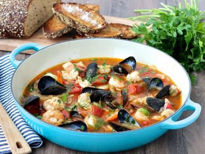 Dining with the Doc: Sunshine State Cioppino (Seafood Stew)
