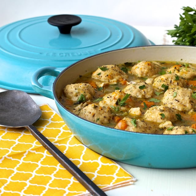 #TheRecipeRedux #chickeanddumplings