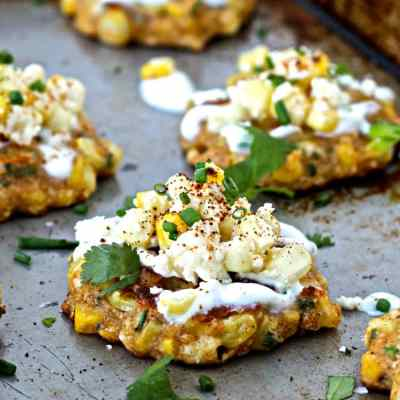 Dining with the Doc: Mexican Street Corn Fritters