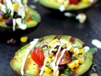 Dining with the Doc: Grilled Stuffed Avocados and Watermelon Mojitos