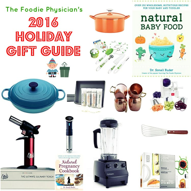 Ease your holiday shopping stress with my 2016 Holiday Gift Guide! | @foodiephysician