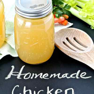 Tips for Reducing Food Waste and Homemade Chicken Stock Recipe