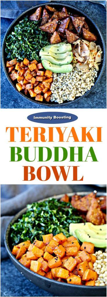 Immunity-Boosting Teriyaki Buddha Bowl