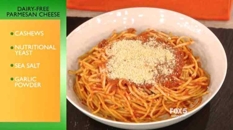 Dr. Oz and 4-Ingredient Dairy-Free Parmesan Cheese