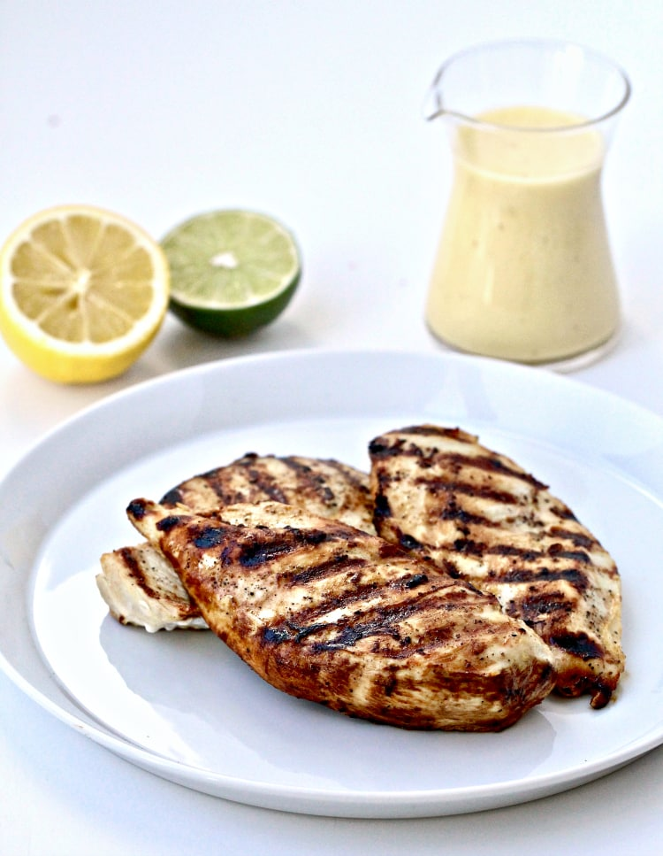 Maple Citrus Salad with Grilled Chicken