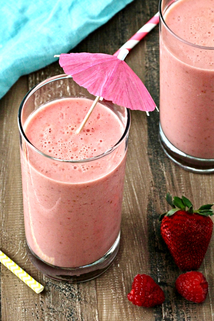 Immunity-Boosting Orange Berry Smoothie