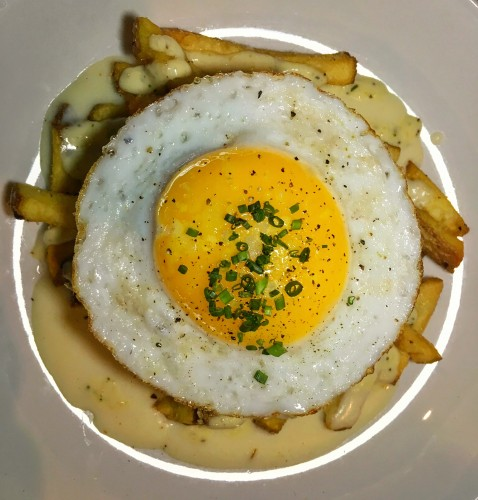 Trust Restaurant Mornay Fries Duck Egg