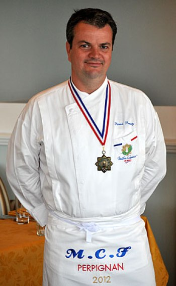 French master chef Patrick Ponsaty
