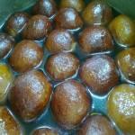 Pistachio Stuffed Gulab Jamun