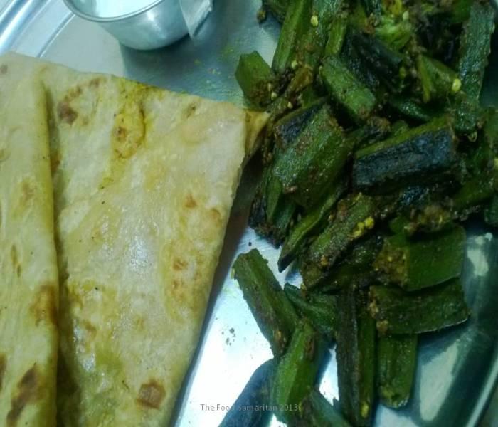 Masaledar Bhindi (Spiced Okra)