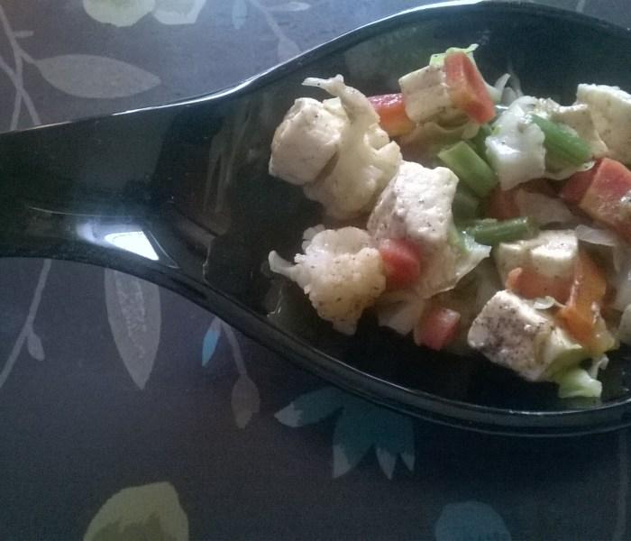 Peppery Vegetable Stir Fry