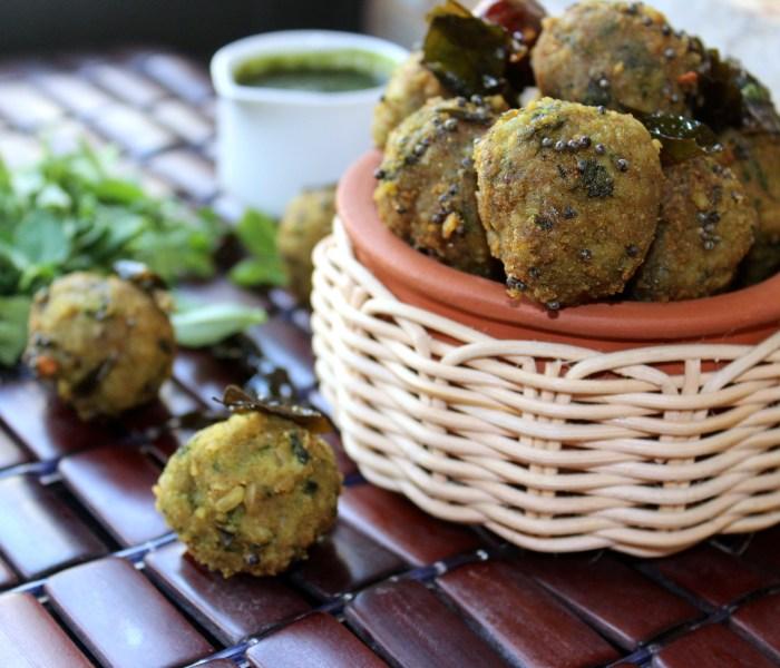 Lapsi Methi Muthia/Broken Wheat and Fenugreek Dumplings