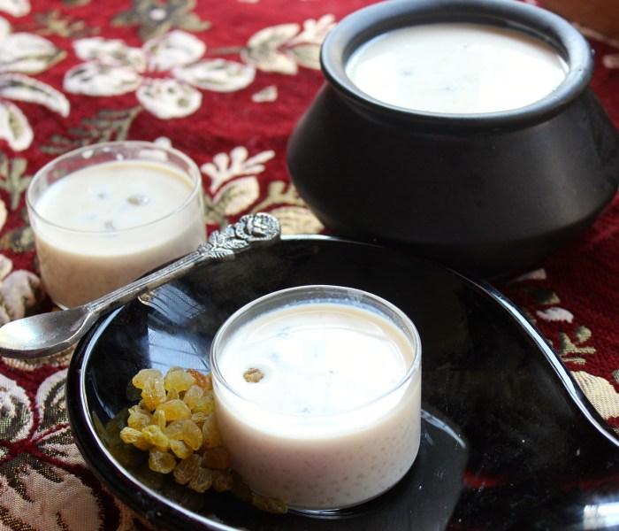 Nolen Gurer Payesh (Date Sugar Pudding)