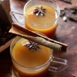 Hot Spiced Apple Drink (for winters and gloomy rainy days)/Mulled Apple Juice