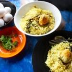 Baked Egg Biryani